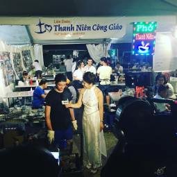 Well done Vincent, our BBQ master, for being the face of Thanh Nien for SBTN!! #HCT2017 #SydTet17 #thanhnieninsta